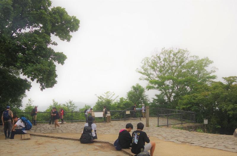 膝リハビリノ高尾山/稲荷山c_a0165316_09083037.jpg