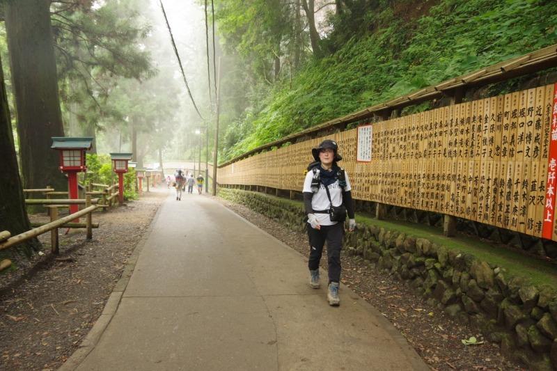 膝リハビリノ高尾山/稲荷山c_a0165316_09090964.jpg