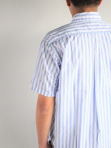 Sans limite ボックスレギュラーカラー半袖シャツ (2本針)_b0139281_15482292.jpg
