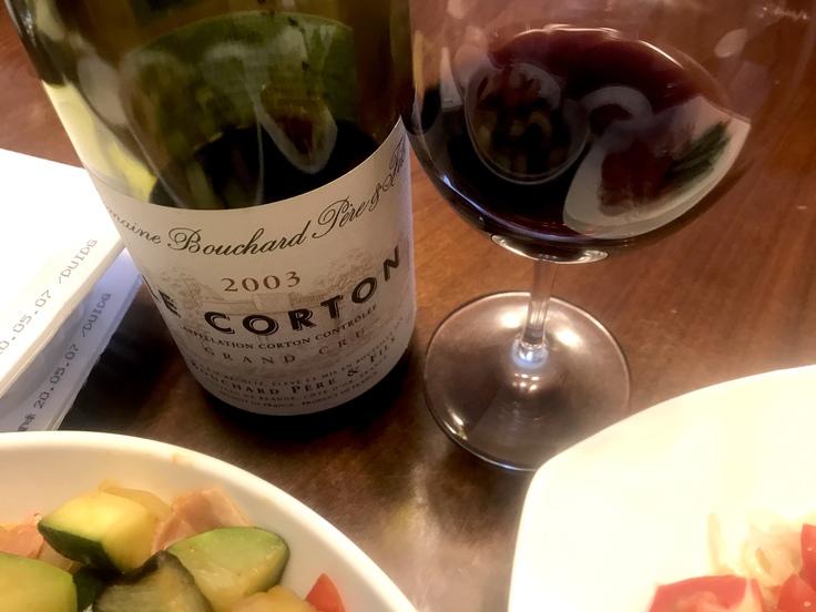 連休最終日☆早めランチはニクと野菜とワインの残り♪_c0212604_11392266.jpg