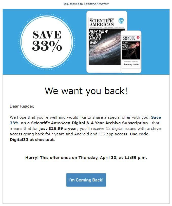 Scientific American 再購読開始_c0025115_21544944.jpg
