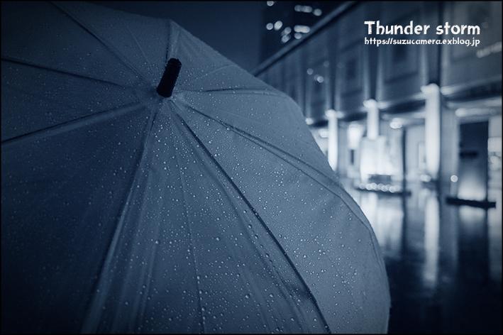 雷と雨の音を聞きながら_f0100215_22430701.jpg