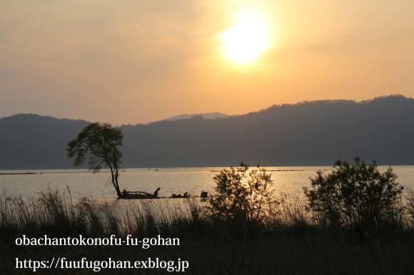 最近の手抜き御飯&琵琶湖の夕暮れ散歩_c0326245_11101483.jpg