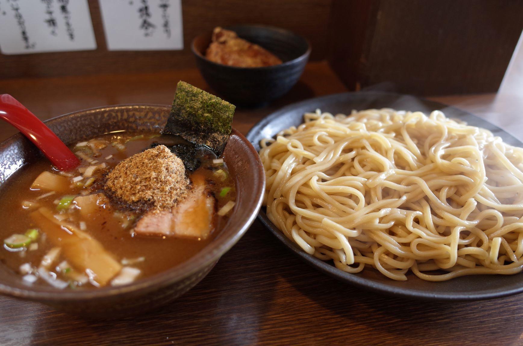 エア外食(つけ麺)_d0389370_22305523.jpg