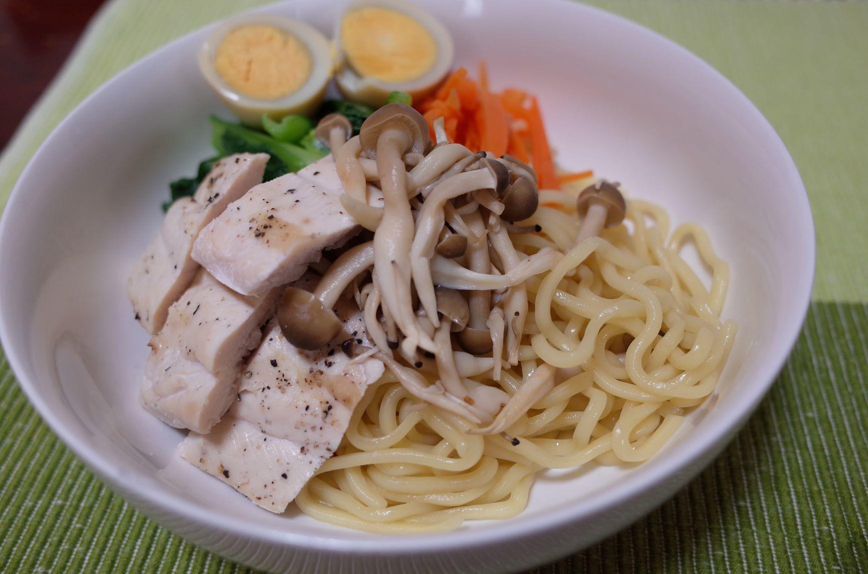 エア外食(つけ麺)_d0389370_22463591.jpg