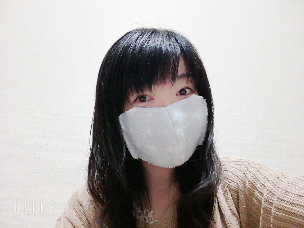 ★手作り立体マスク第二弾♪★_f0351775_22201615.jpg