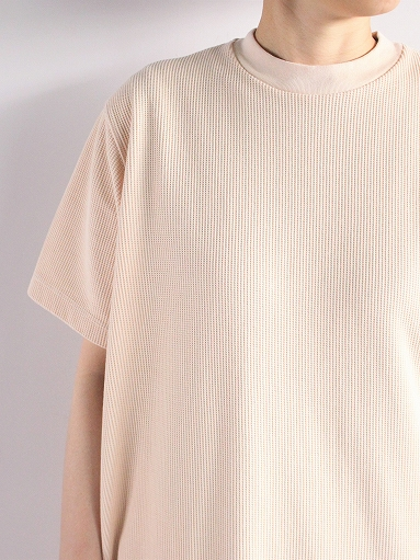 blurhms Rough&Smooth Thermal Long Tee Dress (LADIES ONLY)_b0139281_13452869.jpg