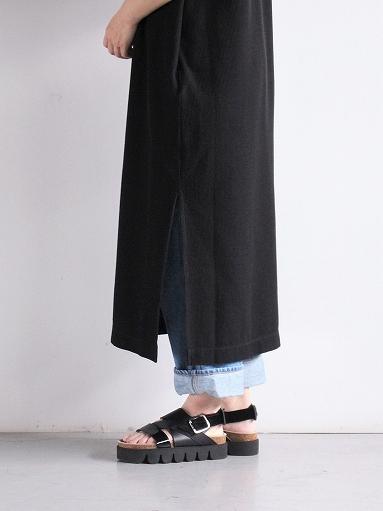 blurhms Rough&Smooth Thermal Long Tee Dress (LADIES ONLY)_b0139281_13454749.jpg
