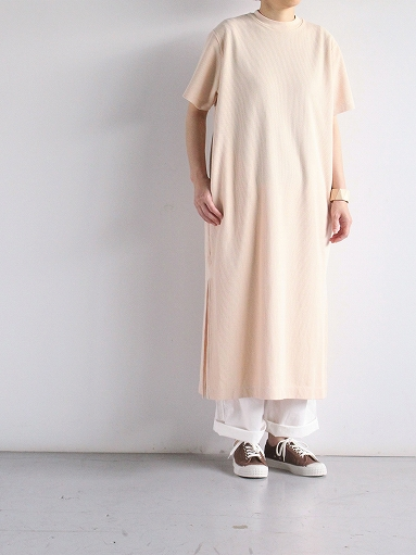blurhms Rough&Smooth Thermal Long Tee Dress (LADIES ONLY)_b0139281_1345882.jpg