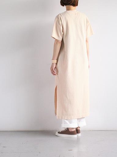 blurhms Rough&Smooth Thermal Long Tee Dress (LADIES ONLY)_b0139281_13461751.jpg