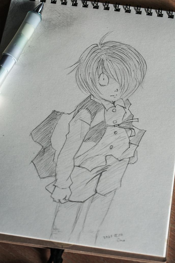 鬼太郎描いてみました_f0189086_16301451.jpg