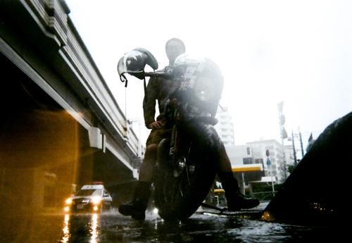 城山 宜弘 & Triumph Thruxton900(2019.10.12/TOKYO)_f0203027_15090721.jpg