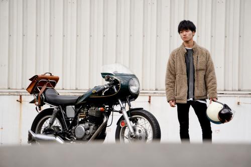 田村 大樹 & YAMAHA SR500(2020.01.04/TOKYO)_f0203027_15191799.jpg