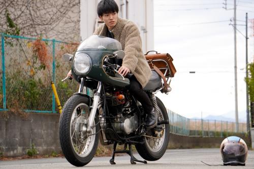 田村 大樹 & YAMAHA SR500(2020.01.04/TOKYO)_f0203027_15192792.jpg