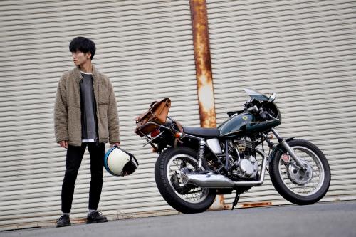 田村 大樹 & YAMAHA SR500(2020.01.04/TOKYO)_f0203027_15195397.jpg