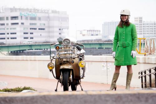 孕石 晶子 & Innocenti Lambretta  Golden Special(2020.01.26/TOKYO)_f0203027_15374977.jpg