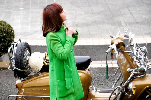 孕石 晶子 & Innocenti Lambretta  Golden Special(2020.01.26/TOKYO)_f0203027_15382334.jpg