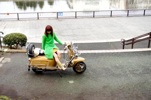 孕石 晶子 & Innocenti Lambretta  Golden Special(2020.01.26/TOKYO)_f0203027_15383024.jpg