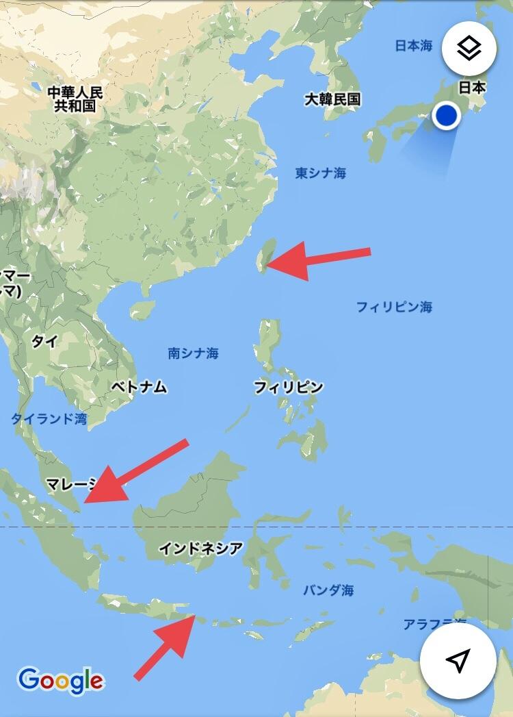 地域差におけるナガサキアゲハ♀の白斑の大きさの違い_d0285540_20430201.jpg