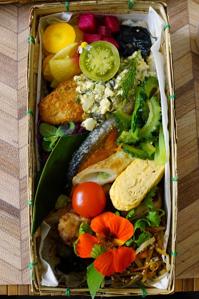 ウチで食べよう En-Taku SAKOの紗鼓めし特製海苔弁_b0049152_18193725.jpg