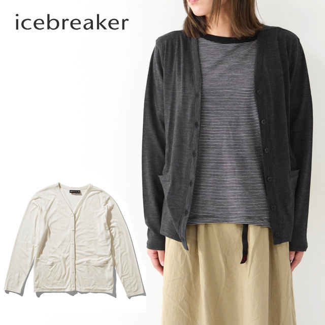 ICE BREAKER [アイスブレーカー] W COOL-LITE CARDIGAN [ITW12075] 長袖・無地・カーディガン・LADY\'S_f0051306_17383495.jpg