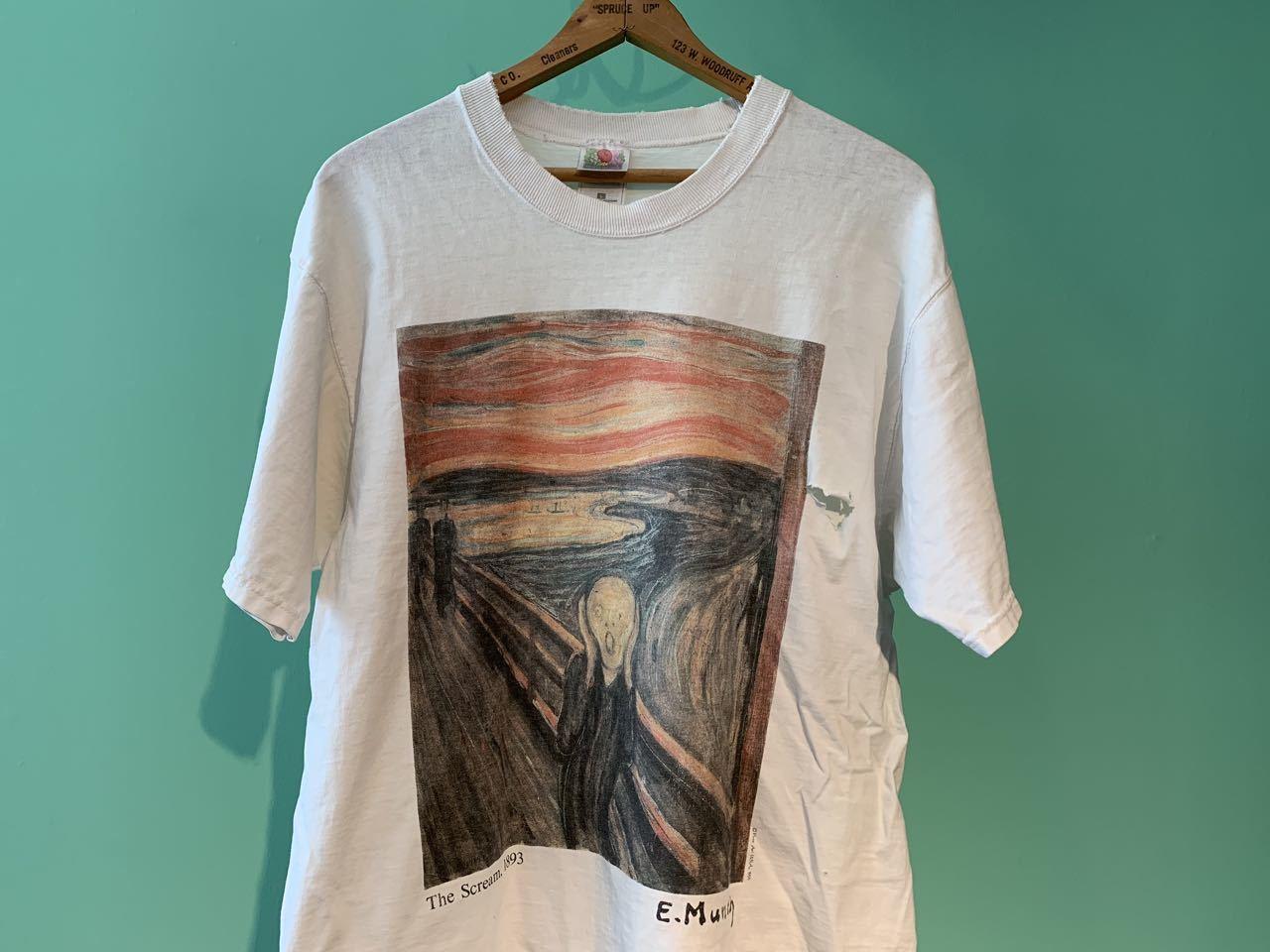 90s アメリカ製 ムンク 『叫び』 Tシャツ!_c0144020_11431128.jpg