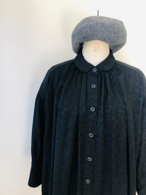 着物着物リメイク/羽織からギャザーいっぱいブラウス_d0127925_19082707.jpg