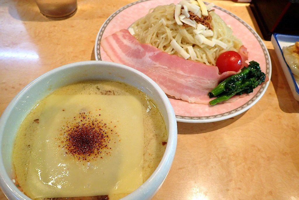 森町「7福神」で限定チーズつけ麺_e0220163_16383879.jpg