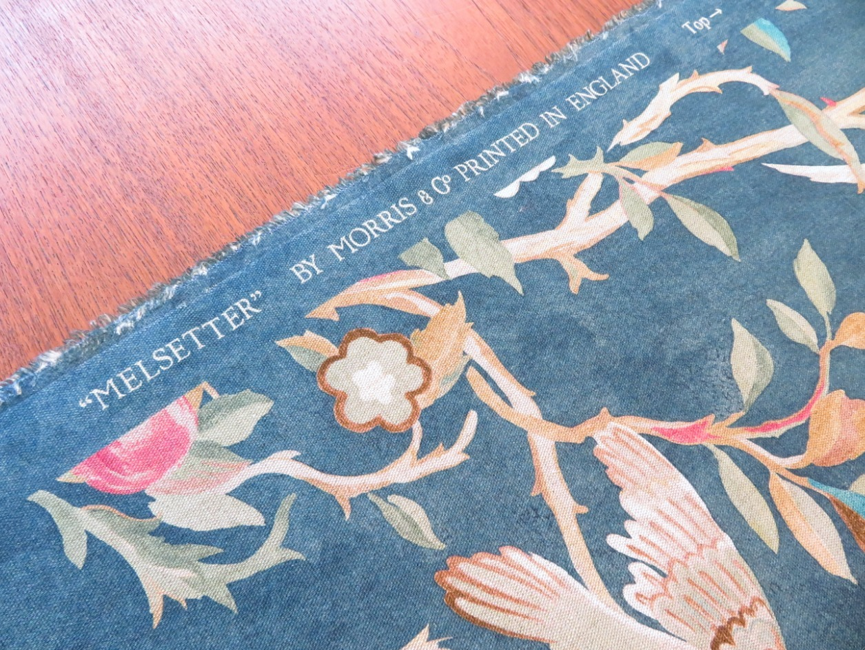 モリスのカーテン生地『メルセッター』 ウィリアムモリス正規販売店のブライト_c0157866_16234610.jpg