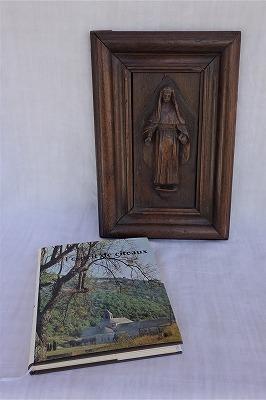 """フランス古道具 \"""" R\"""" 宗教品-レリーフ_e0051968_11352946.jpg"""