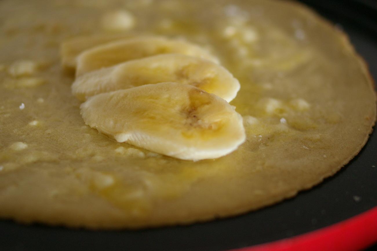 バナナと蜂蜜のガレット_d0327373_17290056.jpg