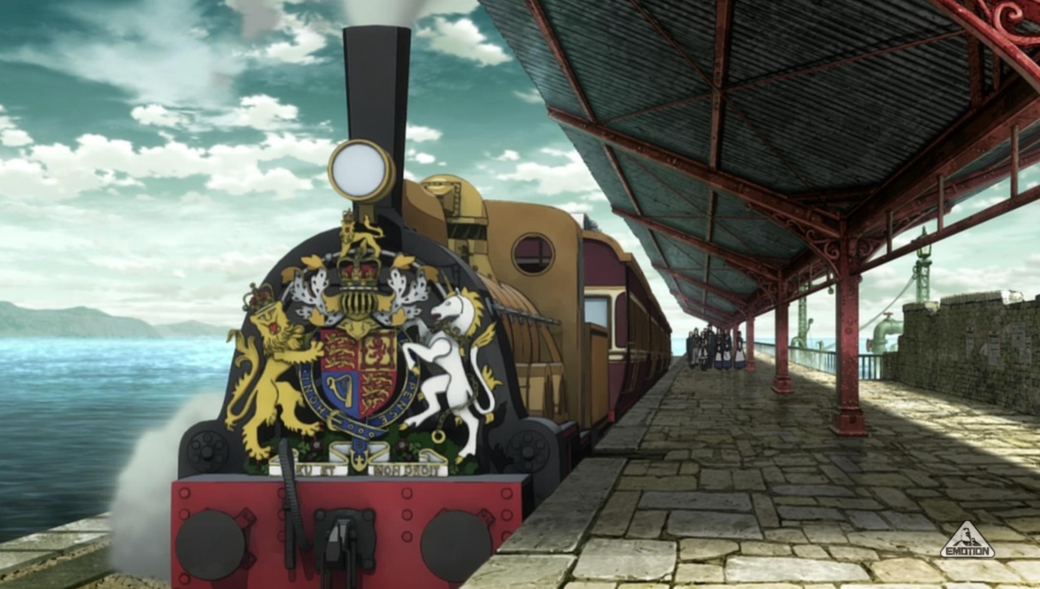 アニメ『プリンセス・プリンシパル』第5話「case7 Bullet & Blade\'s Ballad」における鉄道描写について_f0030574_00160032.jpg