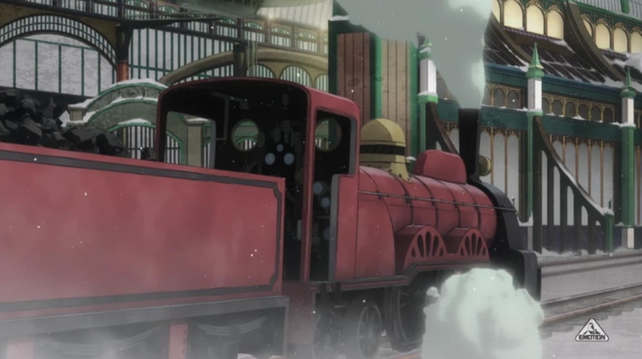 アニメ『プリンセス・プリンシパル』第5話「case7 Bullet & Blade\'s Ballad」における鉄道描写について_f0030574_02370980.jpg