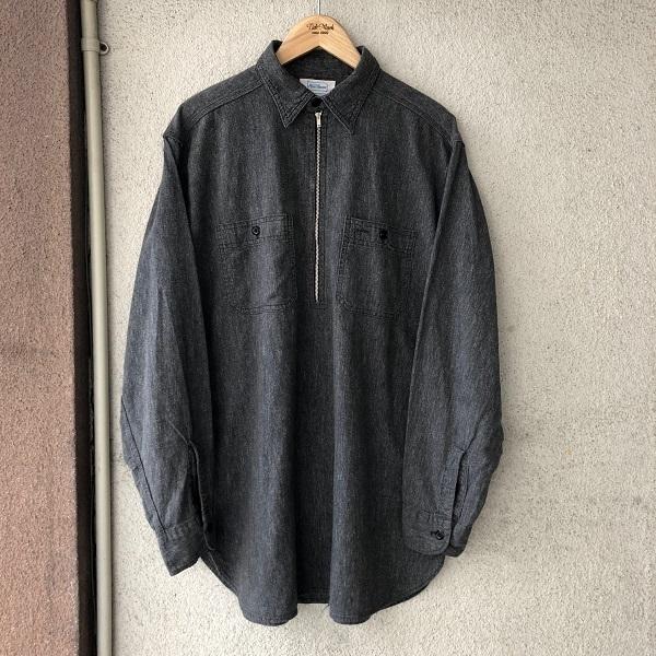 POWR HOUSE Black Chambray Shirt_c0146178_13093990.jpg