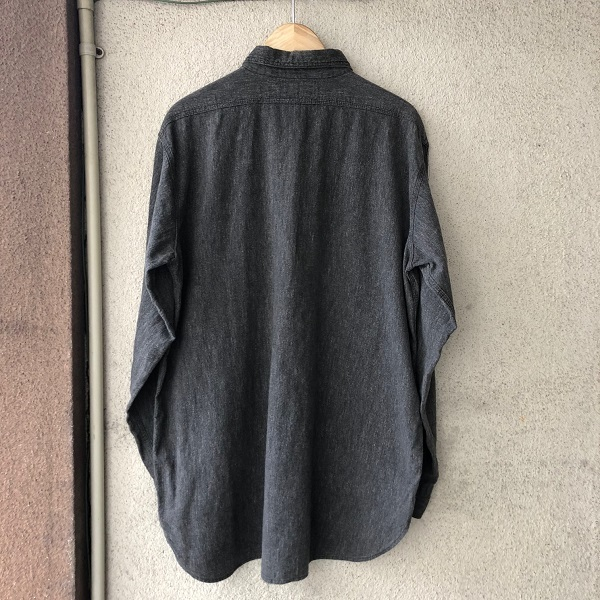 POWR HOUSE Black Chambray Shirt_c0146178_13094821.jpg