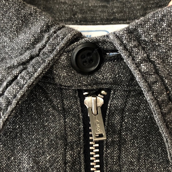 POWR HOUSE Black Chambray Shirt_c0146178_13101894.jpg
