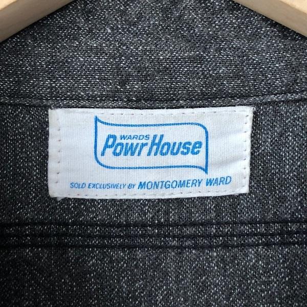 POWR HOUSE Black Chambray Shirt_c0146178_13103172.jpg