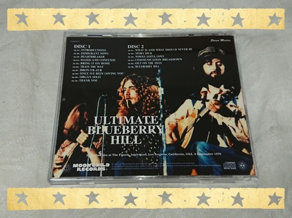LED ZEPPELIN / ULTIMATE BLUEBERRY HILL_b0042308_18411357.jpg