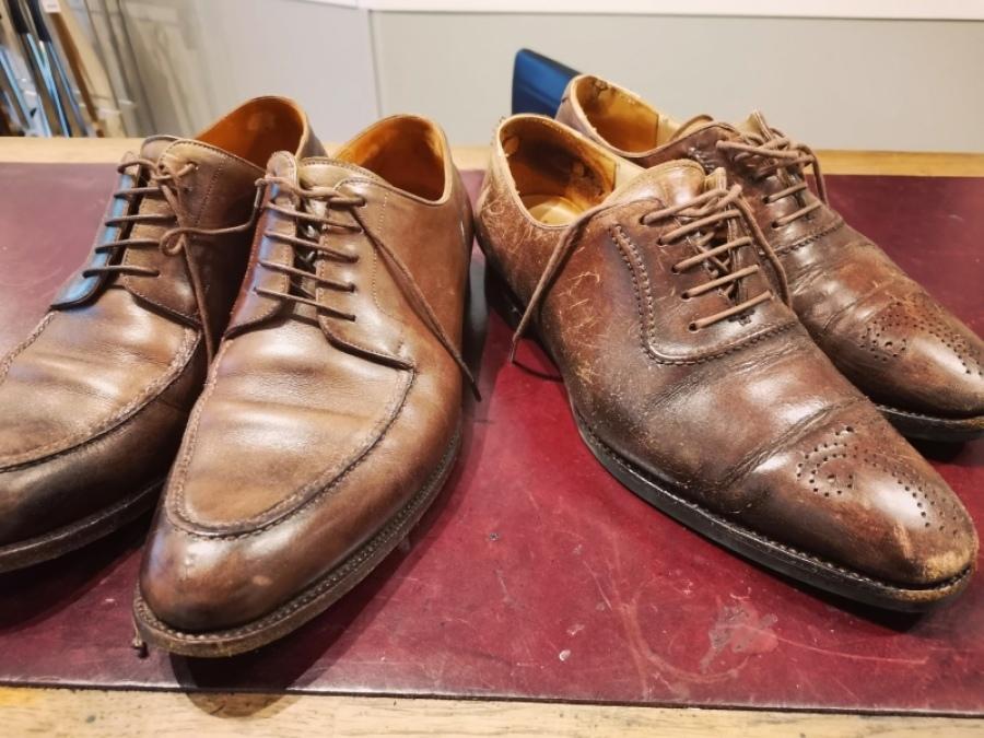 基本の靴磨き ベーシックケアは¥1,000円~_f0283816_16152970.jpg