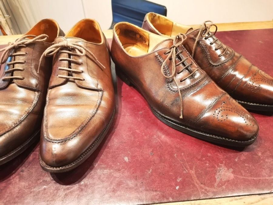 基本の靴磨き ベーシックケアは¥1,000円~_f0283816_16153433.jpg
