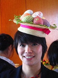 帽子が決めてくれる、あちら、こちら。_d0046025_00040061.jpg
