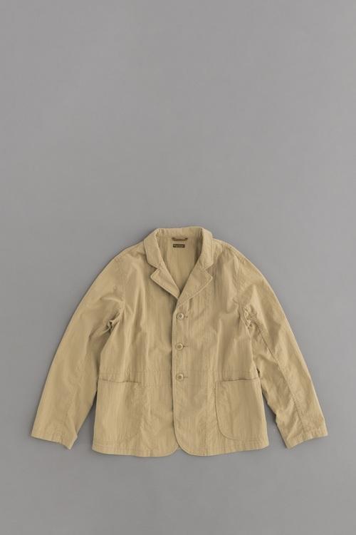 KAPITAL リップストップ ホスピタルジャケット (ベージュ)_d0120442_1513738.jpg