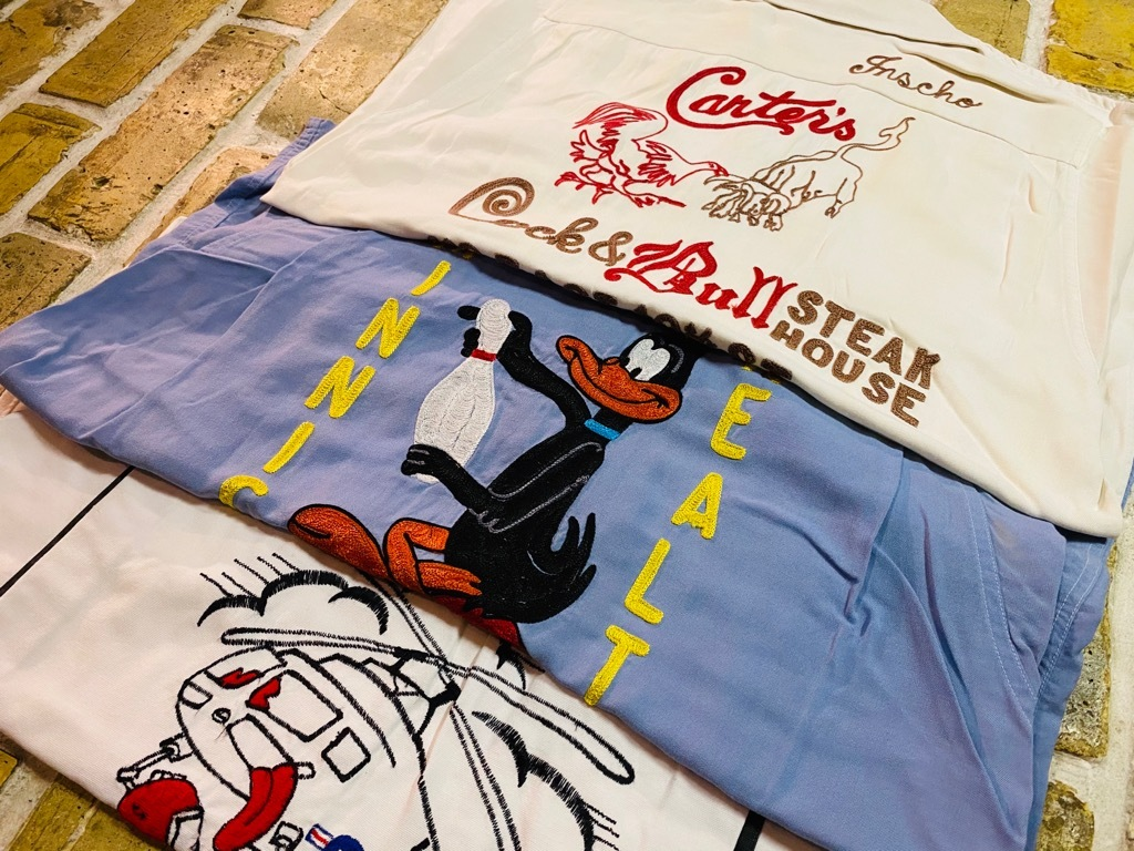 マグネッツ神戸店 5/13(水)ONLINE Vintage入荷! #1  Bowling Shirt!!!_c0078587_17551790.jpg