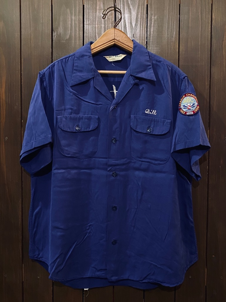マグネッツ神戸店 5/13(水)ONLINE Vintage入荷! #1  Bowling Shirt!!!_c0078587_18185766.jpg