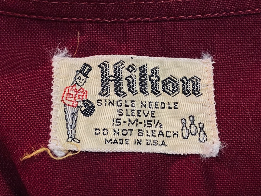 マグネッツ神戸店 5/13(水)ONLINE Vintage入荷! #1  Bowling Shirt!!!_c0078587_18261330.jpg