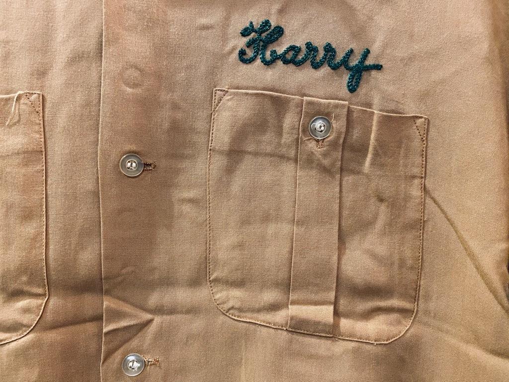 マグネッツ神戸店 5/13(水)ONLINE Vintage入荷! #1  Bowling Shirt!!!_c0078587_18461367.jpg