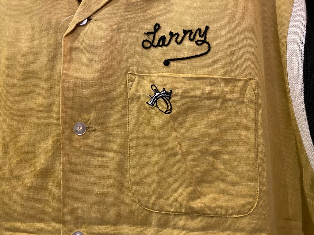 マグネッツ神戸店 5/13(水)ONLINE Vintage入荷! #1  Bowling Shirt!!!_c0078587_18494985.jpg