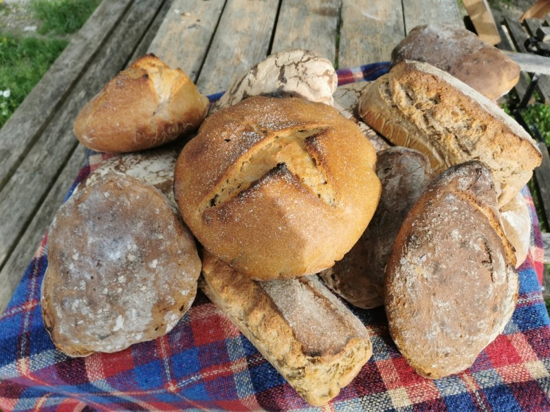 パンを焼きました_f0106597_07132525.jpg