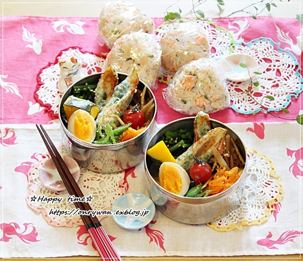 ごちそうおにぎり弁当と多肉ちゃん寄せ植えと母の日にて♪_f0348032_16223063.jpg