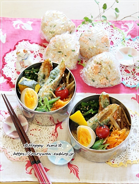 ごちそうおにぎり弁当と多肉ちゃん寄せ植えと母の日にて♪_f0348032_16224245.jpg